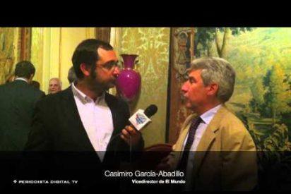 Entrevista a Casimiro García-Abadillo en la presentación de 'El primer naufragio'