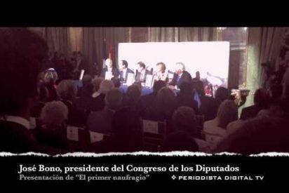 PD en la presentación del libro de Pedrojota Ramírez 'El primer naufragio'
