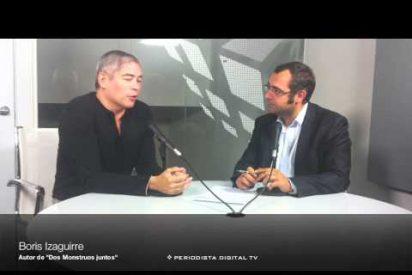 Periodista Digital entrevista a Boris Izaguirre, autor de 'Dos monstruos juntos'