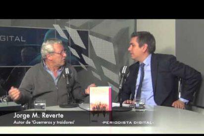 Jorge M. Reverte, autor de 'Guerreros y traidores'