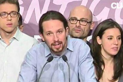Iglesias patina con un discurso revolucionario fuera de la realidad