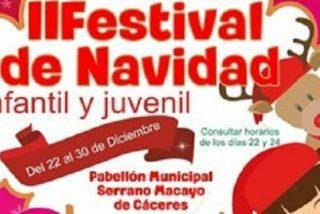 """Cáceres acoge el """"II Festival de Navidad y Ocio"""""""