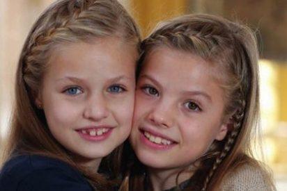 La princesa Leonor y la Infanta Sofía nos felicitan la Navidad