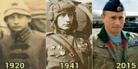 Las 'pruebas' de que Vladímir Putin es inmortal... o un viajero del tiempo