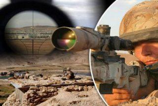 El francotirador del SAS que mata a cinco terroristas de DAESH ¡con tres balas!