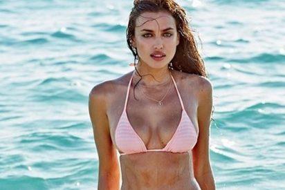 Irina presume de cuerpo en un vídeo al borde de la censura