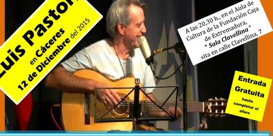 Cáceres acoge el festival de música solidario con Luis Pastor