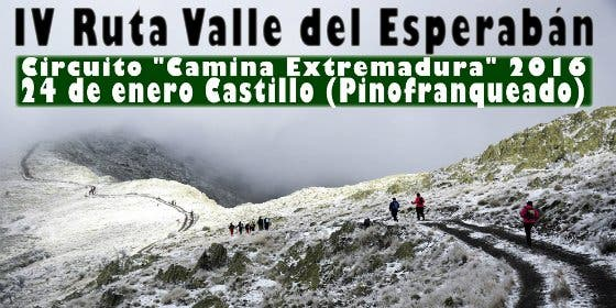 IV Ruta Senderista Valle del Esperabán (Las Hurdes)