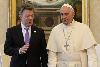 Santos agradece al Papa su mensaje de paz a Colombia