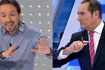"""Antonio Jiménez apalea a Iglesias por sus errores en el debate: """"Tiene la osadía de la ignorancia; ¡cree que no hace el ridículo y ni se inmuta!"""""""