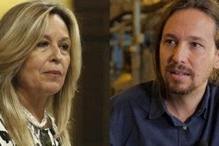 "Trinidad Jiménez deja temblando a Pablo Iglesias: ""Es mentira que esté trabajando para Telefónica"""