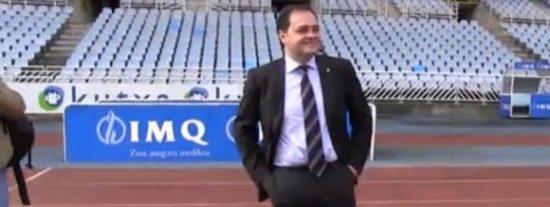 Aperribay amenaza al árbitro tras el robo a la Real en el Bernabéu