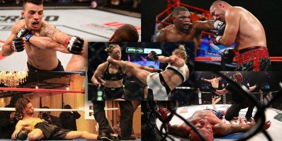 [Vídeos] Los cinco nocauts en el ring más impactantes de este año 2015