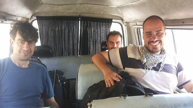 160 días llevan secuestrados por fanáticos islámicos tres periodistas españoles