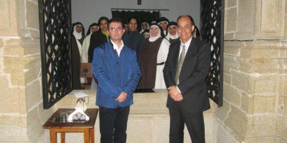José María Velaz presenta un libro sobre el Monasterio de Nuestra Señora de la Salud