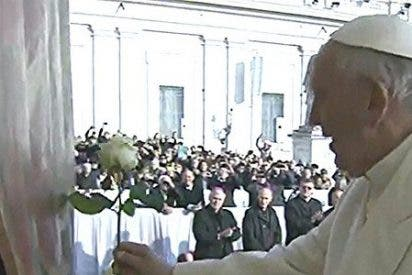 La rosa blanca del Papa a la Virgen de la misericordia