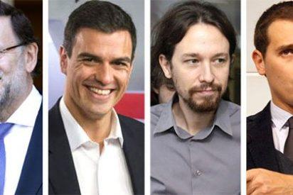 PP, Podemos y Ciudadanos sacuden en grupo a Pedro Sánchez, que apela al voto útil