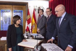 Lucía Heras González, toma posesión como nueva diputada provincial del Grupo Popular