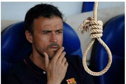Luis Enrique habla sobre el despido de Sergi Guardiola por sus comentarios en Twitter