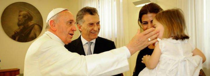 Francisco escribió a Mauricio Macri