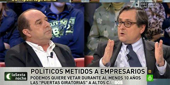"Marhuenda acribilla a Maraña: ""A ti te gusta la mediocridad, el modelo podemita"""