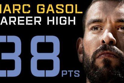 Histórico triunfo de un imponente Marc Gasol: 38 puntos y 13 rebotes ante los Pelicans