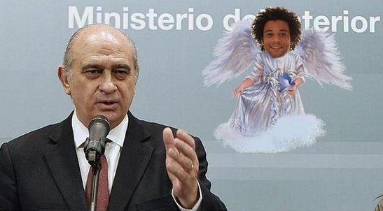 """El """"ángel de la guarda"""" del ministro del Interior, trending topic"""