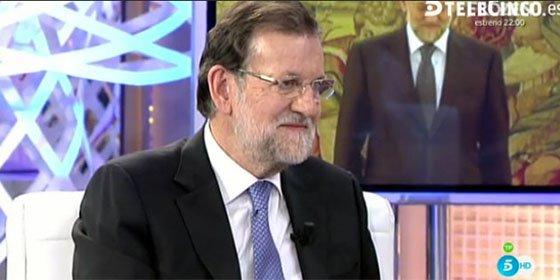 """Mariano Rajoy a Pedro Sánchez: """"El líder de la oposición debe debatir con el presidente del Gobierno"""""""