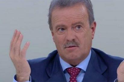 Losantos tritura a Manuel Campo Vidal por su moderación del debate: ¡Vaya pánfilo!