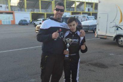 Buena actuación del chinato Miguel Grande en el II Hivern Karting Comunitat Valenciana