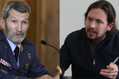 Pablo Iglesias saca la artillería para meter al exJemad en el Congreso