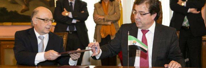 El Gobierno pagará a Extremadura 120 millones por la deuda histórica