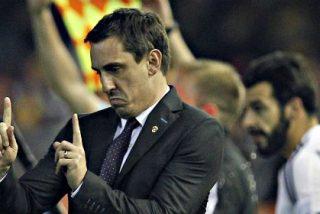 """Gary Neville: """"No tuvimos la chispa del día del Barcelona"""""""