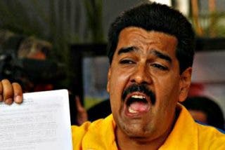 El chavista Maduro: