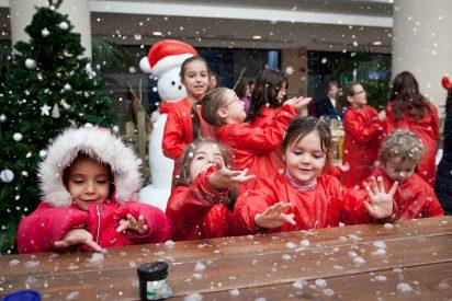 Copiosas nevadas a partir de mañana en Moraleja Green