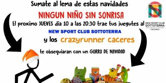 """El Club Deportivo Crazyrunner Cáceres se suma a la campaña solidaria """"NINGÚN NIÑO SIN SONRISA"""""""