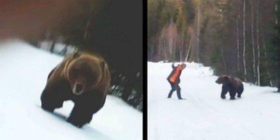 Esta es la mejor manera de espantar a un oso feroz que nos quiere devorar