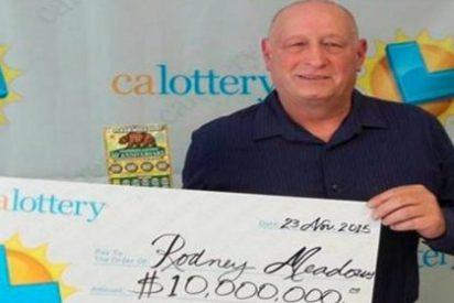 El cabezota se ha forrado por tocarle la lotería dos veces el mismo día