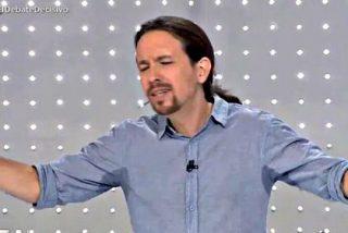 Pablo Iglesias: Sudaba el de Podemos como un pavo la víspera de Navidad