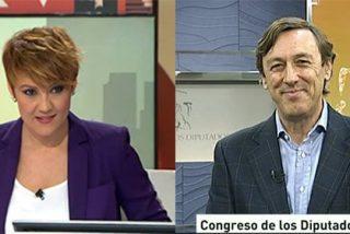 Rafa Hernando frena a Cristina Pardo y acusa a laSexta de 'linchar' a Gómez de la Serna