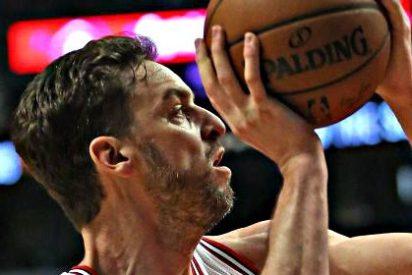 Pau Gasol corta la mala racha de los Bulls a base de triples