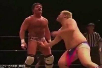 Joey Ryan, EL luchador que gana con la fuerza de su pene aL 'apenado' Danshoku Dino