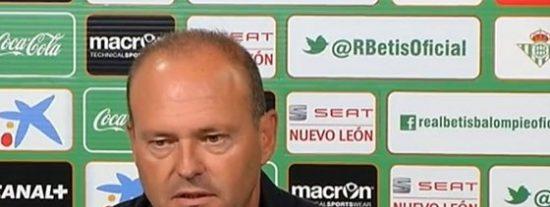 """Pepe Mel: """"El penalti inventado ha sacado al Betis del partido"""""""