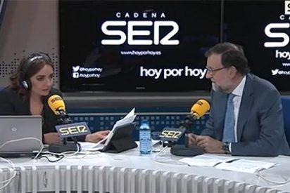 """Rajoy le para los pies a Pepa Bueno: """"Si quiere hablamos de España, si no usted misma"""""""