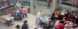El asesinato a sangre fría del dueño de una funeraria en un restaurante
