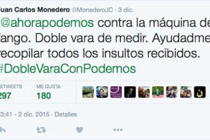 Juan Carlos Monedero revitaliza la campaña de Pablo Iglesias contra los periodistas no afines a Podemos