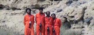 La ejecución estilo 'último diseño' de 25 rebeldes houthis a manos del ISIS