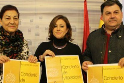 """La concatedral de Mérida acoge el concierto de villancicos """"Así cantan las Corales"""""""