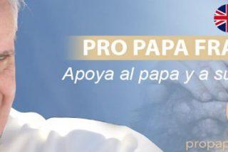 """La web """"Pro Papa Francisco"""" abre sus versiones en inglés y portugués lusófono"""
