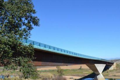 El puente Rodríguez Ibarra, en la EX- 351, cortado al tráfico hasta el lunes, 14 de diciembre